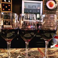 Wine and Dinner at Slate Wine Bar + Bistro
